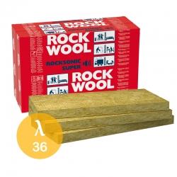 Wełna skalna Rockwool ROCKSONIC SUPER