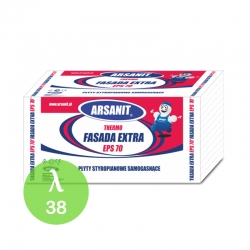 Styropian Arsanit Thermo Fasada Extra EPS70