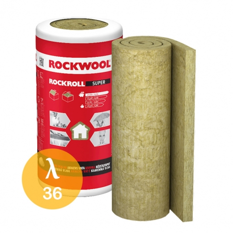 Welna Mineralna Rockwool Rockroll Super